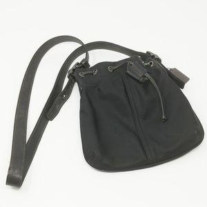 COACH Getaway Black Nylon Shoulder/Crossbody Bag